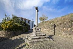 PORTUGAL QUINTANDONA-BY, 26 NOVEMBER 2018 aka Aldeia de Quintandona, Penafiel royaltyfri foto
