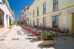 portugal sceny silves ulic fotografia royalty free