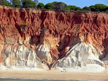 Portugal seashore Royalty Free Stock Photos