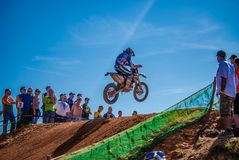 Portugal - September 17, 2009 - ENDURO RACE. stock photography