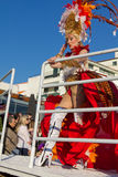 Portugal,Sesimbra,19-02-2012 Carnival Stock Photography