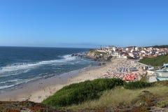 Portugal Sightseen i Marinha Grande royaltyfri foto