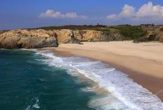 Portugal, Sines Vicentinekust en Zuidwestenalentejo Natuurreservaat stock foto's