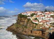 Portugal, Sintra, Azenhas do Mar village. Royalty Free Stock Photo