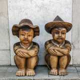 Portugal , Sintra . Figures in national clothes Royalty Free Stock Photography