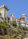 Portugal , Sintra . Pena Palace Royalty Free Stock Images