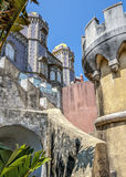 Portugal , Sintra . Pena Palace Stock Photos