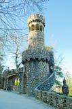Portugal. Sintra. Quinta da regaleira tower stock image