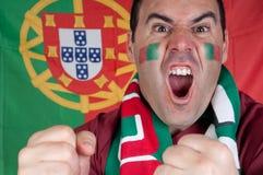 Portugal soccer fan stock images