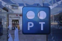Portugal Telecom Foto de Stock Royalty Free