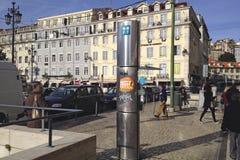 Portugal Telecom Lisbona Fotografia Stock