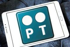 Portugal Telecom logo Stock Images