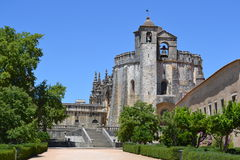 Portugal Templar castle. The beautiful templar castle in Tomar, Portugal. Peacefull and full of mystery Royalty Free Stock Photo