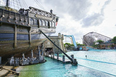 Portugal themed area - Europa Park in Rust, Germany Royalty Free Stock Images