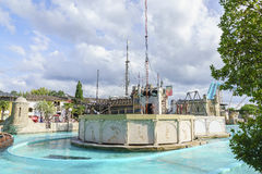 Portugal themed area - Europa Park in Rust, Germany Royalty Free Stock Photo