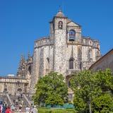 Portugal Tomar, kloster av beställningen av Kristus royaltyfri fotografi