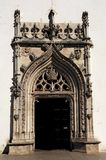 Portugal, Tomar: Sao Joao Baptista church Royalty Free Stock Image