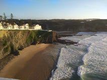 Zambujeira playa city Portugal royalty free stock photography