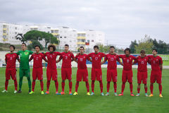 Portugal Under-19 Royaltyfri Fotografi