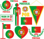 Portugal. Vector illustration (EPS 10 Royalty Free Stock Images