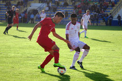 Portugal vs Wales (Under-19) Royaltyfria Foton
