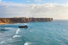 Portugal west coast landscape Royalty Free Stock Photos