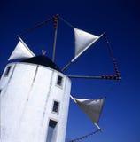 portugal windmill Arkivfoto