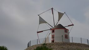 Portugal windmill stock video