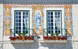 Portugal windows Stock Image