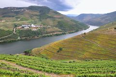 River Douro, Portugal royalty free stock photos