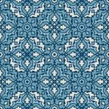 Portugalczyka wektoru dachówkowy wzór Zdjęcia Stock