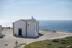 PORTUGALIA ALGARVE SAGRES FORTLEZA fort Fotografia Stock