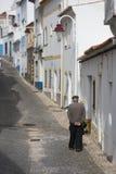 PORTUGALIA ALGARVE SALEMA STARY miasteczko obrazy stock