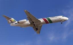 Portugalia-Fokker 100 Stockfotos