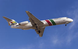 Portugalia Fokker 100 Stock Photos