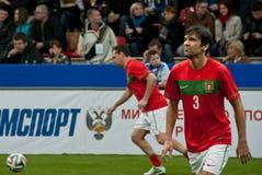 Portugalia futbolista Paolo Ferreira zdjęcia royalty free