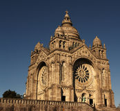 Portugalia Kościół Santa Luzia daleko od Vi w ten sposób Fotografia Royalty Free