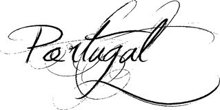 Portugalia znak ilustracji
