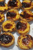 Portugalscy Custard Tarts Zdjęcie Royalty Free