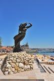 Portugalscy odkrycie pomnikowi w Cascais, Portugalia Obraz Royalty Free