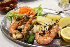 Portugalska dieta Obrazy Royalty Free