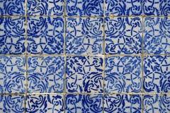 Portugalski Brazylijski kolonista Azulejo Tafluje Sao Luis Brazylia Fotografia Royalty Free