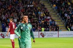 Portugalski gracz futbolu, osobistość Cristiano Ronaldo obrazy royalty free