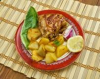 Portugalski Pieczony kurczak Obraz Royalty Free