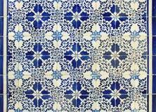 Portugalskie azulejos płytki Obraz Royalty Free