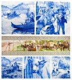 Portugalskie sztuk płytki Fotografia Stock