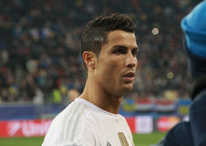 Portugees CRISTIANO RONALDO van REAL MADRID Royalty-vrije Stock Afbeelding