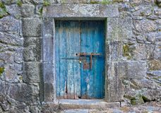 Portugees deurkader royalty-vrije stock foto