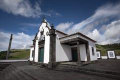 Portugees Sao Miguel Portugal van de Azoren van de Kapelkerk Stock Foto's