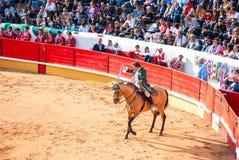 Portugees stijlstierenvechten Royalty-vrije Stock Foto